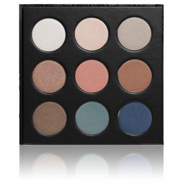 PaolaP Palette Fards à Paupières Shimmer 9 Coloris
