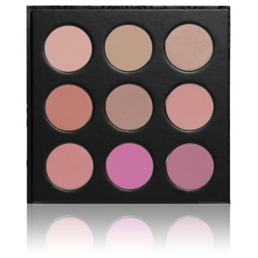 PaolaP Palette Fards à Joues Blush Me 9 Coloris