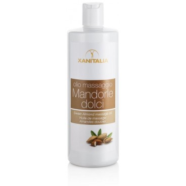 Huile massage Xanitalia amandes douces 500 ML