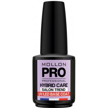 Nail Base Coat Semi-Permanent Glanz Mollon Pro Hybrid 15ml