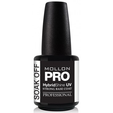 Base Vernis Permanent Strong Base Coat Soak Off Mollon Pro 15ml