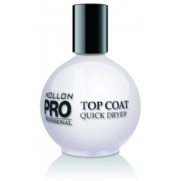 Top Coat Quick Dryer Mollon Pro 15 ML
