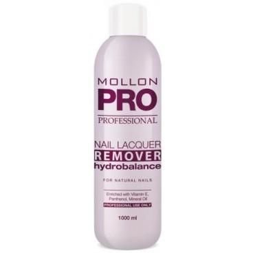 Dissolvant hydratant Nail Lacquer Remover Hydrobalance Mollon Pro 1000ml