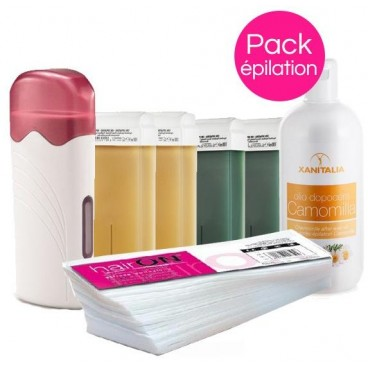 Pack Cire Xanitalia Miel/Chlorophylle Roll On
