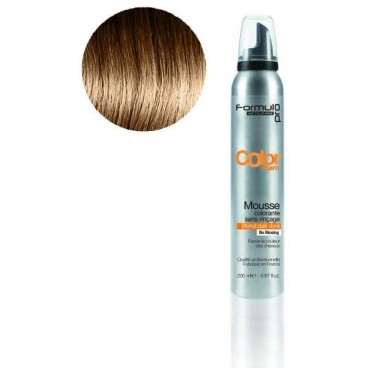 Mousse colorante Formul Pro Blond Clair Doré 200 ML