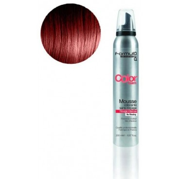 Mousse colorante Formul Pro Rouge Intense 200 ML