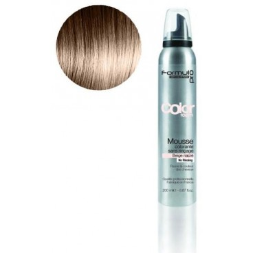 Mousse colorante Formul Pro Beige Nacré 200 ML