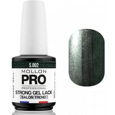 Vernis Permanent Soak Off Strong Gel Lack Mollon Pro Hematite Beauty - 02