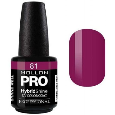 Vernis Semi-Permanent Hybrid Shine Mollon Pro 15ml Judith - 81