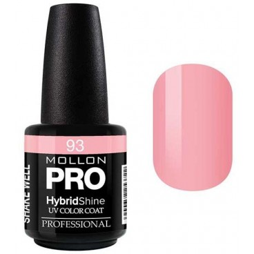 Vernis Semi-Permanent Hybrid Shine Mollon Pro 15ml Berthe - 93