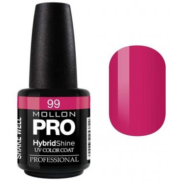 Vernis Semi-Permanent Hybrid Shine Mollon Pro 15ml Hannah - 99