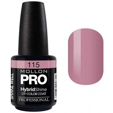 Vernis Semi-Permanent Hybrid Shine Mollon Pro 15ml Misaki - 115