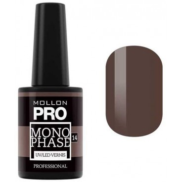Vernis Semi-Permanent Monophase Mollon Pro 10ml Linda - 14