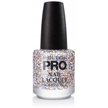 Top Coat Effet Paillette Mollon Pro Pastel Dots - 205