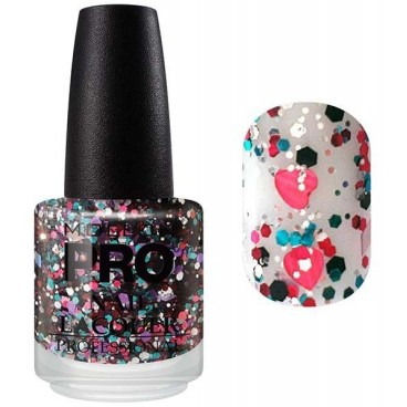 Top Coat Effet Pailleté Mollon Pro Color Glitter - 219