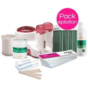 Pack Epilation Peaux Sensibles Xanitalia Pot et Roll'On