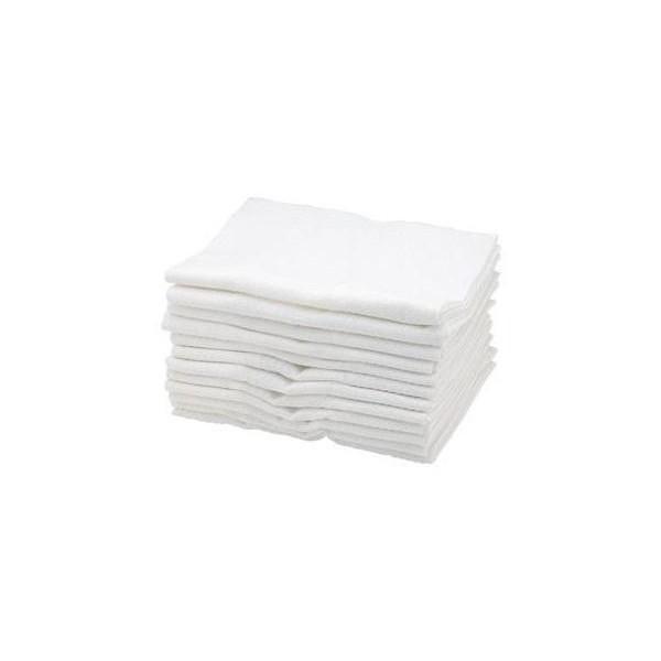 Sibel Toallas de algodón blanco x 12 piezas