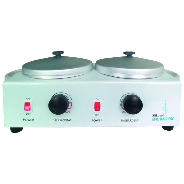 Wax Heater Double Bowl Sibel