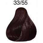 33/55 dark brown mahogany intense