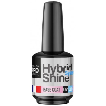 Mini Base Coat Vernis semi-permanent Hybrid Shine 8ml