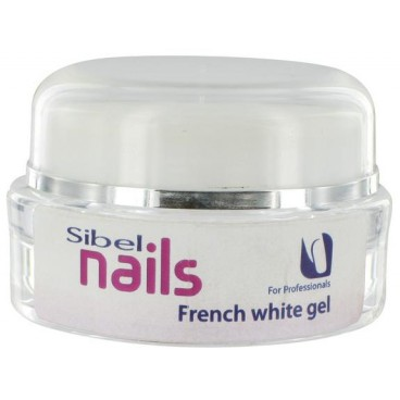 Gel Uv French White Sibel Nails 15 ML