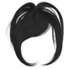Frange Balmain Cheveux Naturels Noire