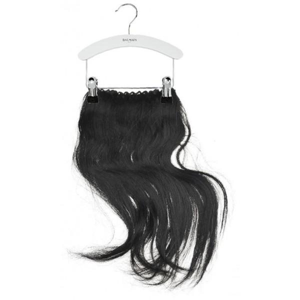 extensión del pelo de Balmain 40 CM Negro vestido Nº 1B