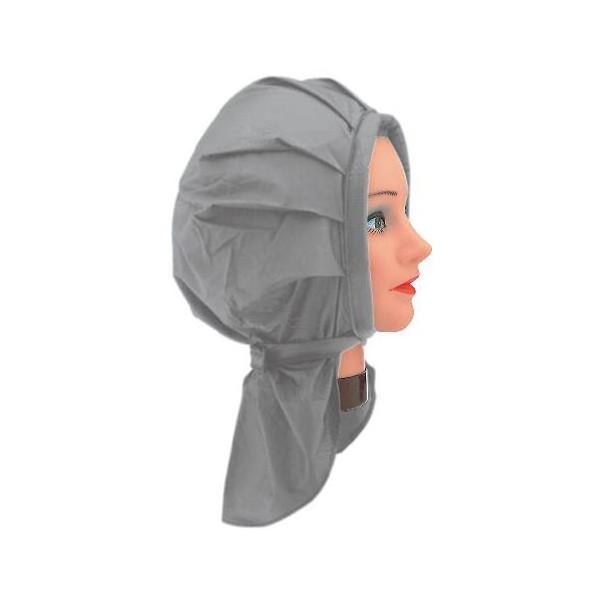 Plastic Gray Permanent Hat