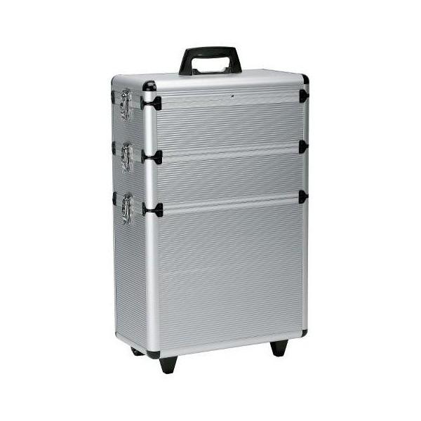 Aluminium suitcase original 3 floors