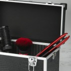 Barber cases Black Croco
