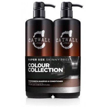 Pack Tigi Catwalk Fashionista Brunette 2 X 750 ML