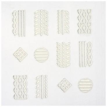 Décors Adhésifs Ongles Peggy Sage Sweater Nails 149606