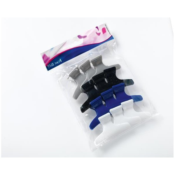 Pinze fermaciocche multicolori - Piccolo modello