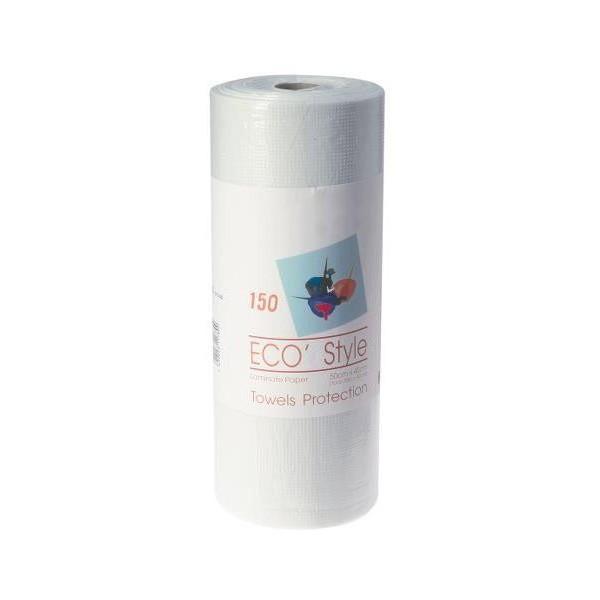 toallas del rollo de plástico estilo Eco