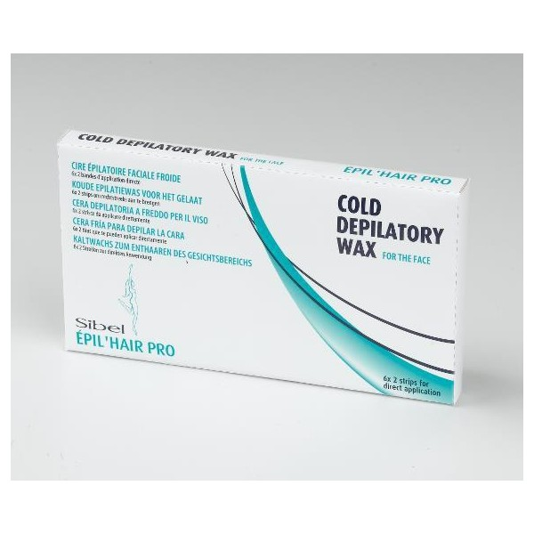 Cold Wax Strips package 12 Face