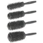 Set of 4 Square Black Brushes