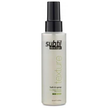 Spray Froissant Effet Plage Salt-it Subtil Design 125ml