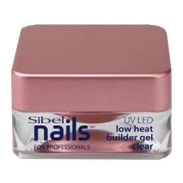 Gel UV / LED de construcción Claro Baja Temperatura Sibel Nails 15m