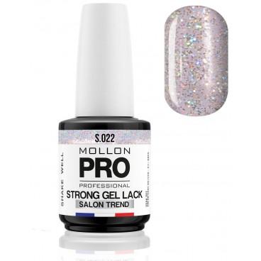 Standing Strong polish Soak Off Gel Lack Mollon Pro 12ml (For Color) Aqua Quartz - 022