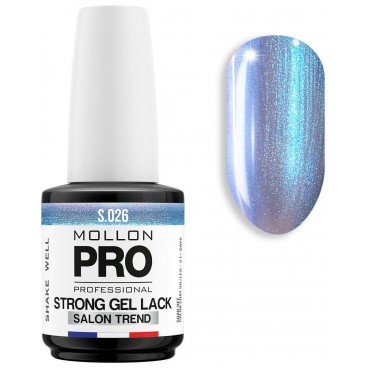 Vernis Permanent Soak Off Strong Gel Lack Mollon Pro 12ml Fluorite - 026