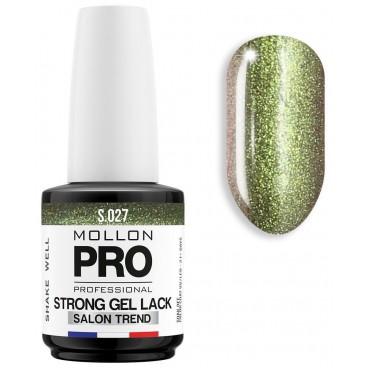 Essere forti polacco Soak Off Gel Lack Mollon Pro 12ml (per il colore) Torbernite - 027