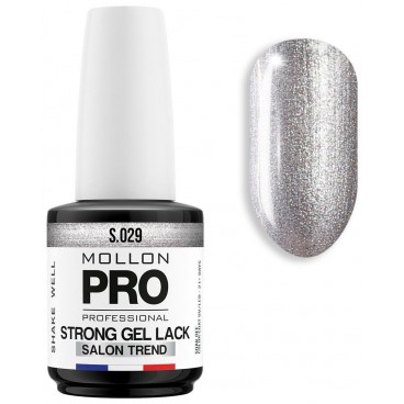 Vernis Permanent Soak Off Strong Gel Lack Mollon Pro 12ml Palladium - 029