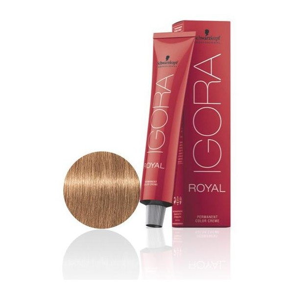 Igora Royal 8-65 Biondo chiaro marrone dorato - 60 ml -