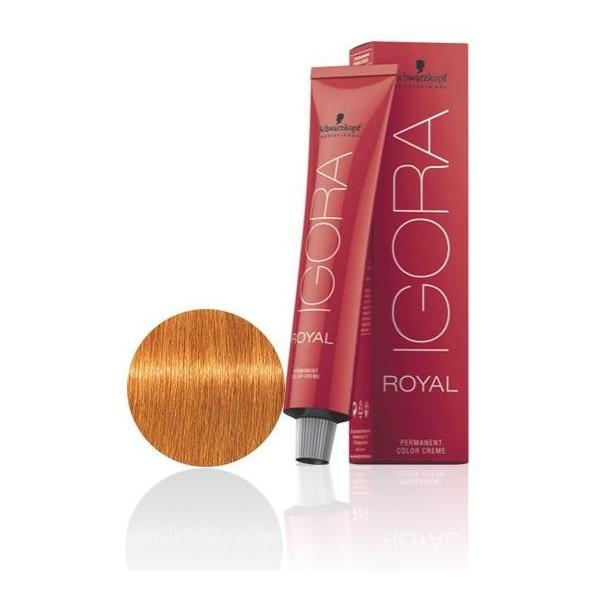 Igora Royal 9-7 Biondo molto chiaro ramato - 60 ml -