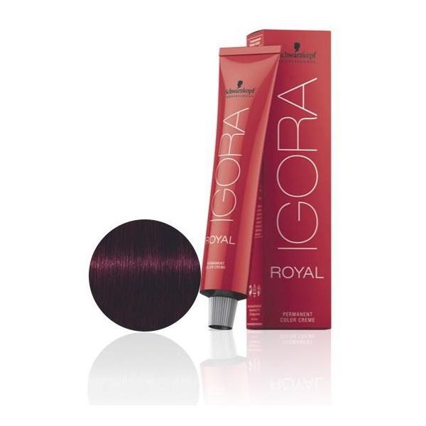 Igora Royal 4-99 Marrón Violeta Rojo 60 ML