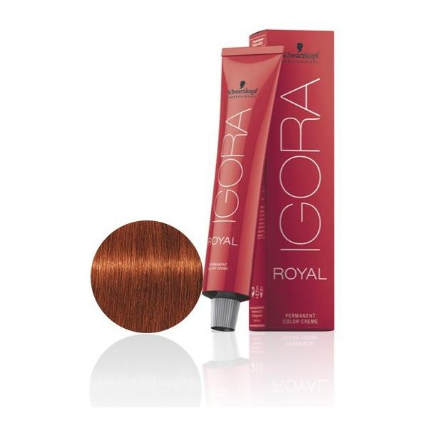 Igora Royal 6-77 Dark Blonde Copper Extra 60 ML