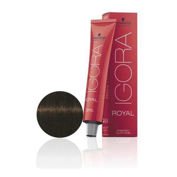 Igora Royal 4-63 braun matt braun Medium 60 ML