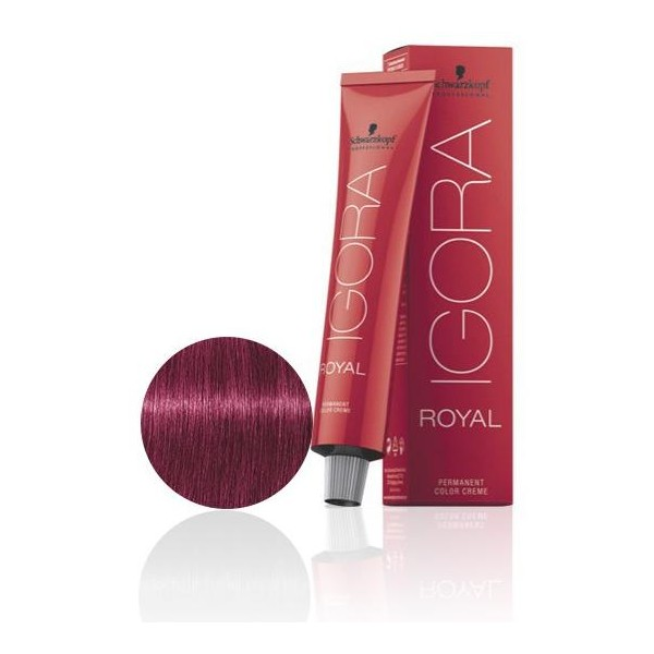 Igora Royal 9-98 claro Rubio, rojo, morado 60 ML