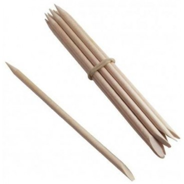 Manicure wooden sticks x10