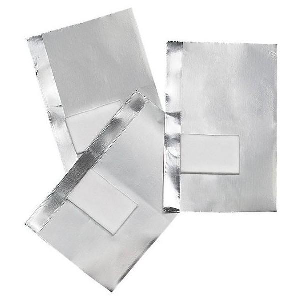 50 fogli di alluminio con fondello integrato 155484